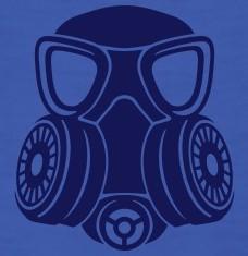 T-shirts Gas mask personnalisés