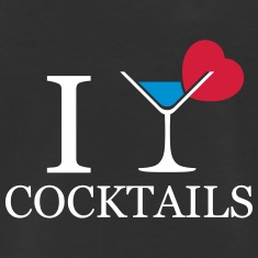 I love cocktails design drinking