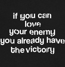 Design your Love your enemy t-shirts and accessories