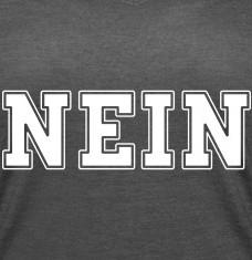 T-shirts NEIN college personnalisés