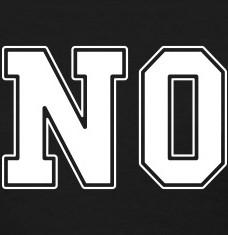T-shirts No college personnalisés