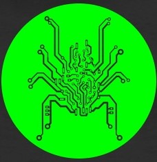 Design your PCB spider circuit t-shirts and accessories