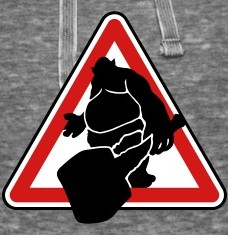 Design your Troll road sign t-shirts and accessories