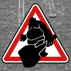 Troll road sign design