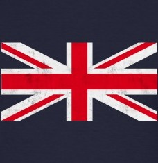 Design your Union Jack vintage t-shirts and accessories