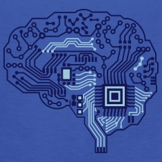brain-circuit-cyborg-t-shirt-1003867255