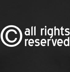 T-shirts Copyright personnalisés