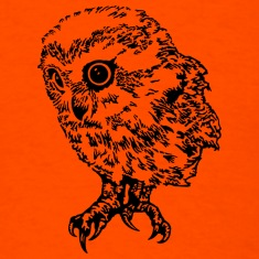 cute baby owl design t-shirt