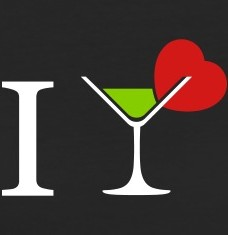 Design your I love cocktail t-shirts and accessories