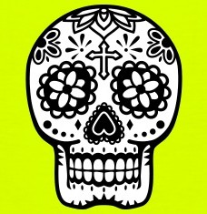 Design your Mexican skull t-shirts and accessories