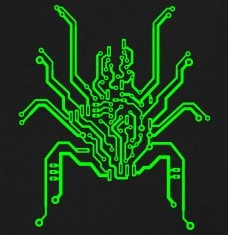 Design your Bionic spider circuit t-shirts and accessories
