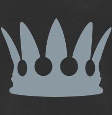 T-shirts Golden crown personnalisés