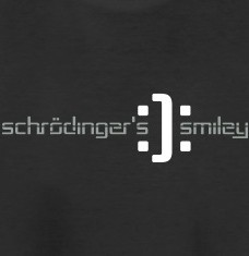 Design your Schrödinger smiley t-shirts and accessories