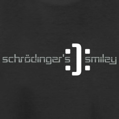 schrodinger smiley geek nerd design