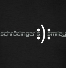 Design your Schrödinger joke t-shirts and accessories