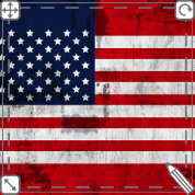 Customizable USA designs. ...