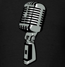 Design your Vintage microphone t-shirts and accessories