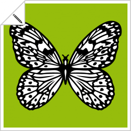 Customizable butterflies to print online, on t-shirts, cups, etc.