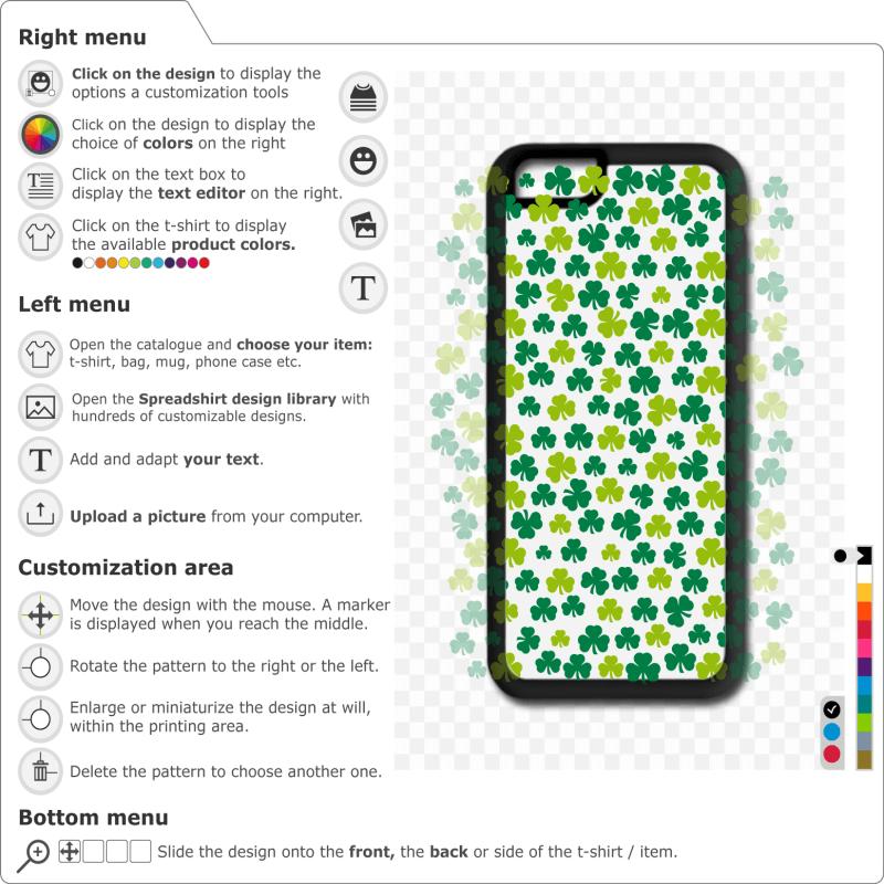 Customize a phone shell Irish clubs