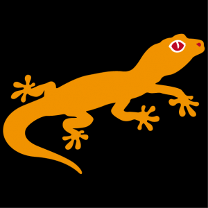 Cute gecko design to personalize and print on t-shirt, mug, bag etc.