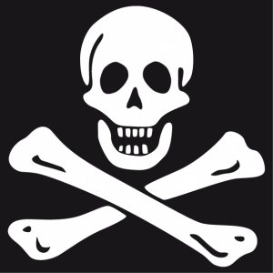 Gift or t-shirt Jolly roger pirate flag to create and customize online.
