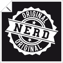 Nerd designs to customize and print online.