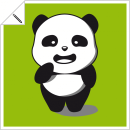 Pandas kawaii, pandas drawn in vector format to customize and print on t-shirt, cup, bag etc. with the designer Spreadshirt.