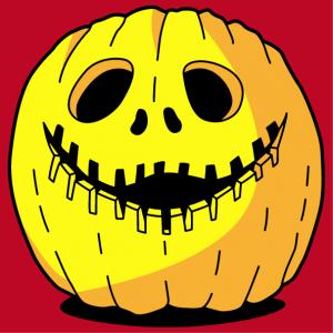 Funny pumpkin T-shirt to print online for Halloween. Create a custom Halloween t-shirt.