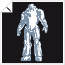 Customizable robots, print a robotic t-shirt and science fiction online.