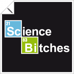Science and humour designs to personalize online.