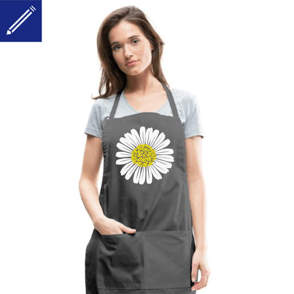 Create your own unique and original garden apron with Spreadshirt.
